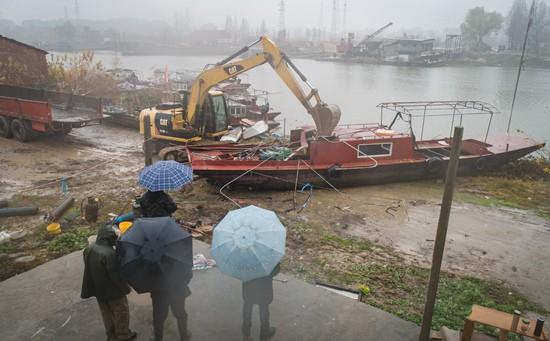 退捕上岸的长江渔民